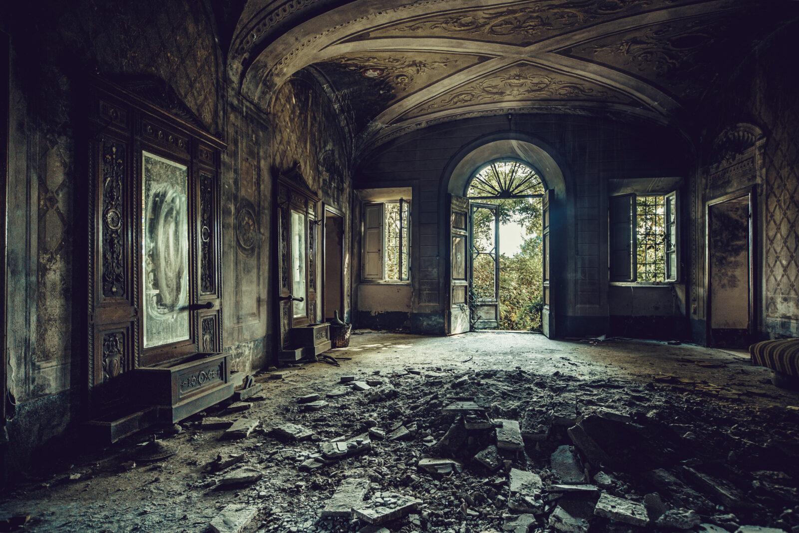 Villa degli specchi gemalli